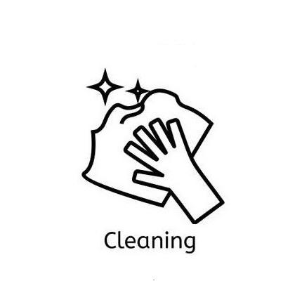 83923473-hand-met-een-simpele-lijnpictogram-reinigen-dunne-lineaire-tekens-schoon-en-schijn-eenvoudig-concept